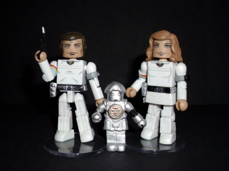 Minimates - Buck Rogers in the 25th Century. by CyberDrone2-0