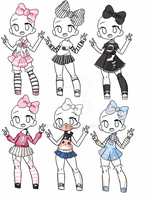 Outfit Adopt Set[Closed] by yuki-white