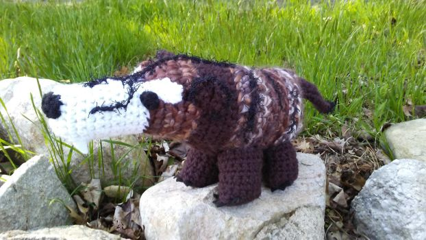 Andy The Amigurumi Andrewsarchus by Missilekite