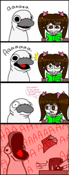 The fury of the sock COLLAB COMIC by Bluecupcake01