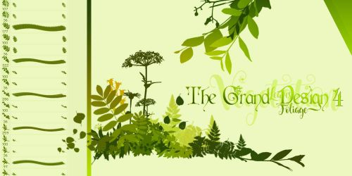 The Grand Design 4 - Leaves, Foliage, Vegetation by TreehouseCharms
