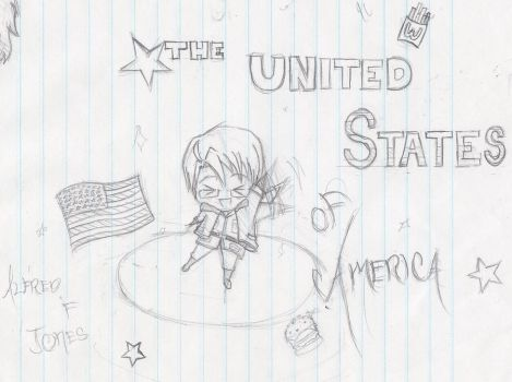 The U.S of A~ by kurokitsune77