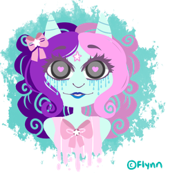 [Art Payment]: Cotton Candy Gal by SimplyDefault