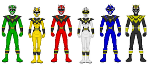 Kaiserverse - Power Rangers Dragon Force by Kaiserf11