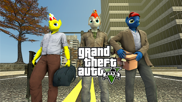 Grand Theft Anthro by grzes4000
