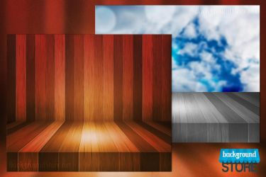 Wooden Stage Background by BackgroundStore