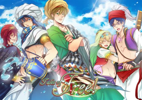 Free! Fanbook: Tales of Free! by mandachan