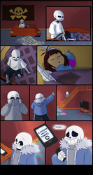 Endertale (prologue) - Page 1 by TC-96