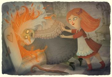 Gretel and the Witch by V-L-A-D-I-M-I-R