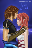 Noel and Serah - It will be Okay by ladylucienne