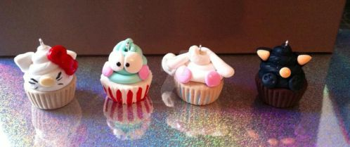 Sanrio Cupcakes by Akascha