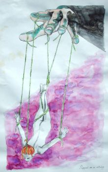 Puppet on a string (reserved) by othyim