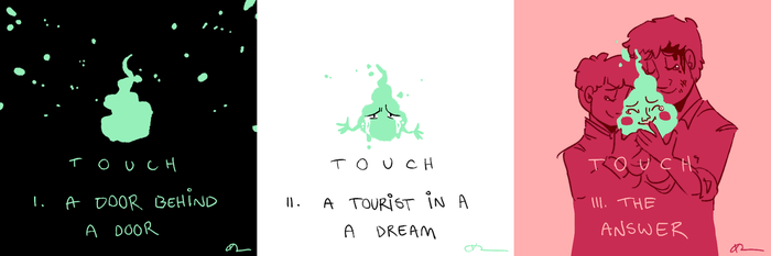 touch (fic. illustrations) by kateboat