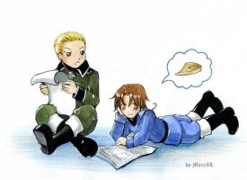 APH Ludwig and Feliciano by MaryIL
