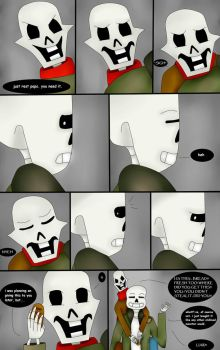 I'll Just Have To Carry You (Undertale Comic) Pg 4 by ImaBanana84