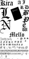 death note letters by limpbizkit9001