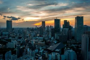Tokyo Sunset by Ulprus