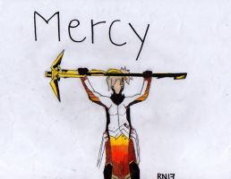 Mercy Overwatch (Golden :c) Staff by TitanSayan