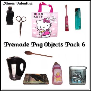 Premade Png Objects Pack 6 by Lady-Valentine-Art83