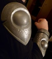 Wiccan Armour Shoulder and Brace by 4thWallDesign