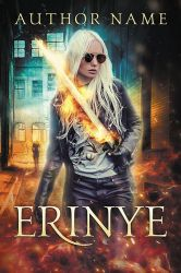 Erinye - premade book cover by LHarper