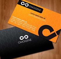 business card by salhi