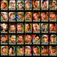 walking dead sketch cards season 2 by choffman36