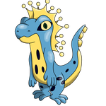 Fakemon #8: Aquaselisk by Draggaco