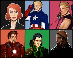 Almost Avengers by ddevantre