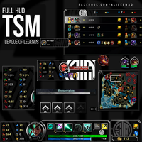 League of Legends HUD - TSM by AliceeMad