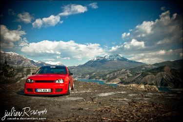 VW Golf Mk4 by Zazaka