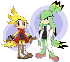 Mango and Kiwi by Natomatsu