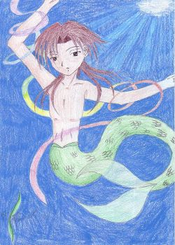 Merman Teru by MasakiKobashi