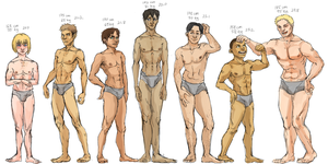 104th squad boys lineup by PayRoo