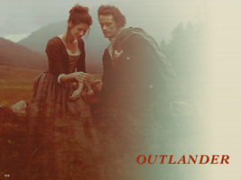 Jamie and Claire by BearN