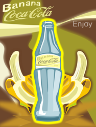Banana Coke by doncroswhite