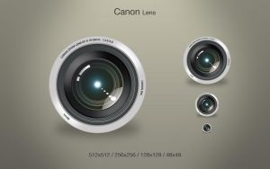 Canon Lens by adamhultin