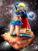 super girl by dinei