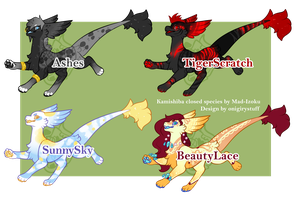Kamishiba Batch2 Adopt (close) by onigiryStuff