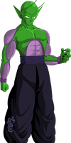 Piccolo (Saiyan Saga) MLL Redesign by MAD-54