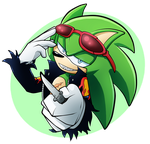 A Green Prick by cassidythehedgehog1