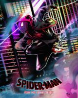Morales - Into the Spider-Verse by watermelonkid
