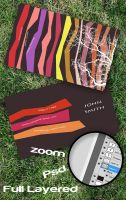 Zebra Business Card by Freshbusinesscards