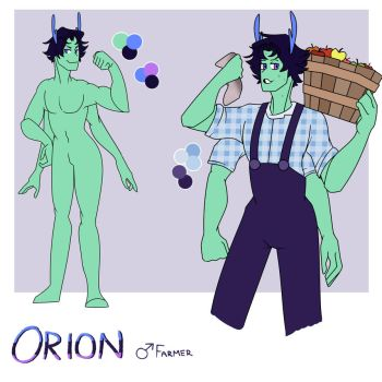 Orion Reference Sheet by Hooplang