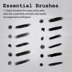 Essential Brushes by innerpsychopath