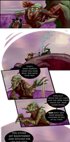 Dear Rider, Pg 29: Life Lessons by Jeeaark