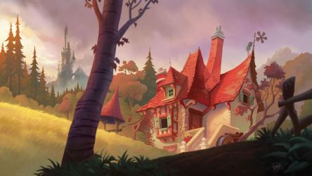 Belle's house by petura