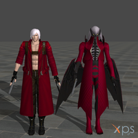 UMVC3 Dante pack by RyuAensland