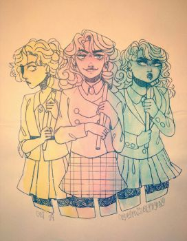 and then there's the heathers. by cryingpossiblydying