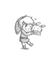 Link and Goomy
